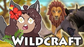 Making Lion SNACKS Out of the Ancient Moose!!  WildCraft! The Wild Hunt!