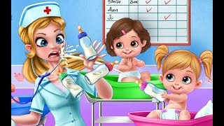 Baby Care - Kids Learn how to Take Care of Newborn Babies - Crazy Nursery Gameplay