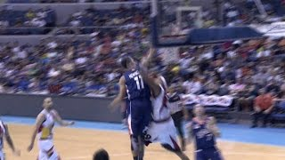 newsome posterizes santos   philippine cup 2015 2016