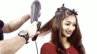 Incurls Blow Dry Sam And Jas Tutorial In Hindi