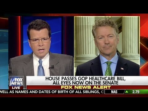 Sen. Rand Paul on House Health Care Bill - May 4, 2017