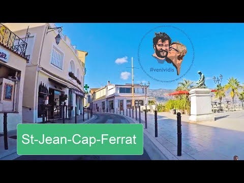 Eze - Saint-Jean-Cap-Ferrat yolu [Full HD]