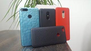 ШОК! ОРИГИНАЛЬНЫЕ ЧЕХЛЫ и защитные пленки Сяоми ► Xiaomi Redmi 5, Redmi 5 plus, Mi A1, Redmi Note 5a