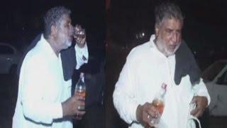 Punjabi Man Taking Whiskey Openly In Mela at Patiala
