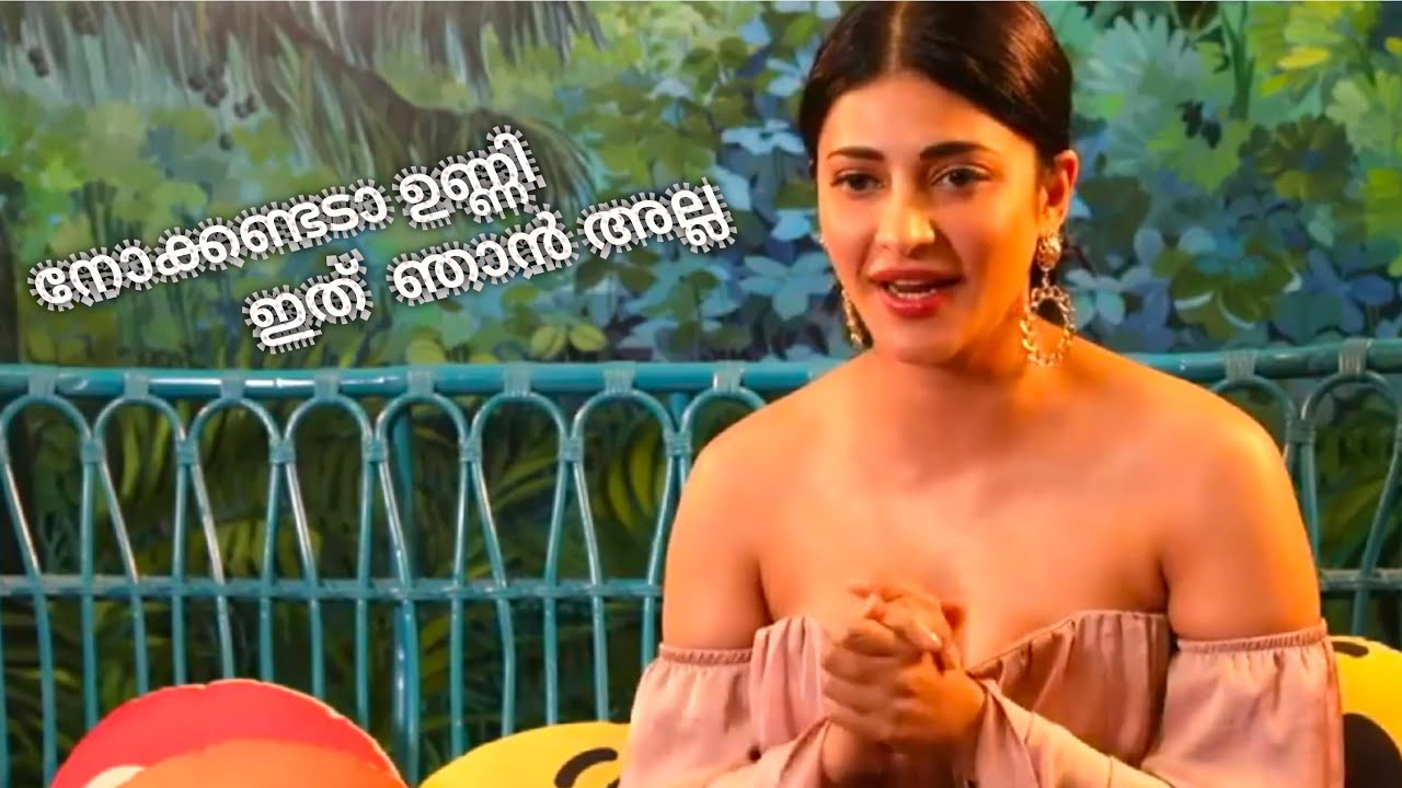 Shruti Haasan Talking Live On Sexy Look  Shruthi Haasan -1264