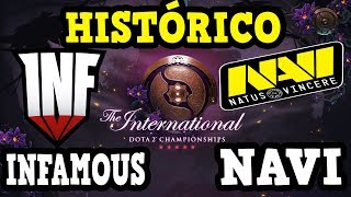HISTÓRICA VICTORIA - INFAMOUS VS NAVI - THE INTERNATIONAL 2019 DOTA 2