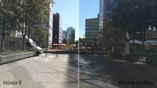 Камера Honor 8 против iPhone 6s Plus