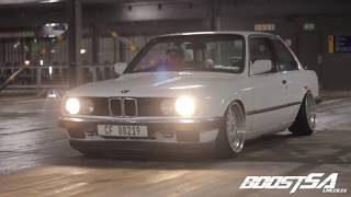 BMW E30 on Air Suspension