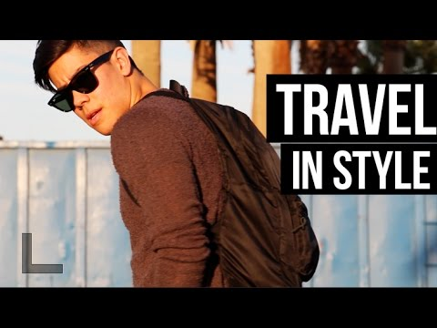 HOW TO: TRAVEL IN STYLE - MEN'S FASHION (DAY OF TRAVEL) | JAIRWOO