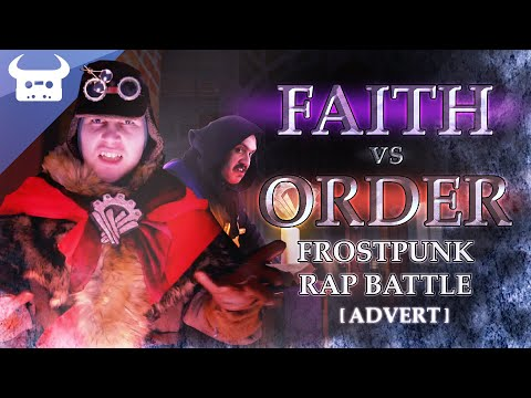 FROSTPUNK RAP BATTLE - Faith Vs Order | Dan Bull Vs The Stupendium
