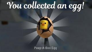 Peep-A-Boo Egg ROBLOX Egg Hunt 2017 Tutorial