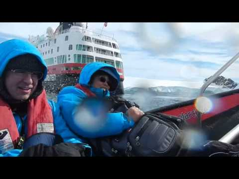 MS Fram, Polar Cirkel shore to ship boat ride, Antarctic Ex
