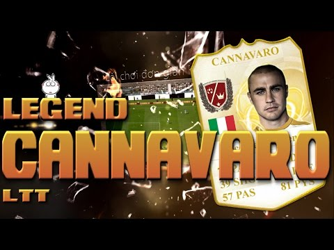 Kênh LTT | Review Fabio Cannavaro World Legend - FIFA Online 3 Việt Nam