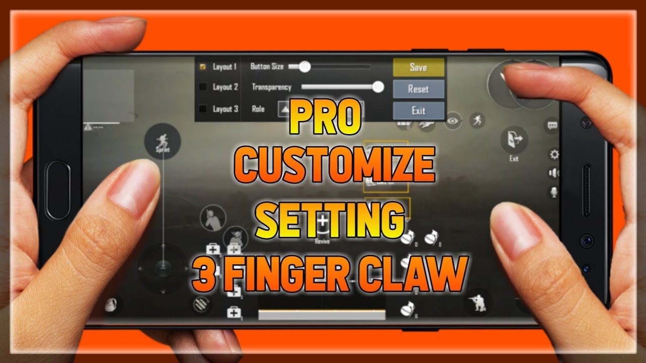 Pro Customize Claw Control Setting This Setting Make A Pro Player On Pubg Mobile