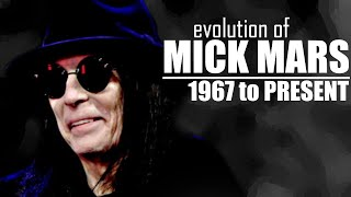 The Evolution Of Mick Mars (1967 or 1971 to present)