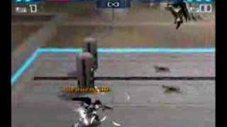 Wing Zero VS Freedom in battle assault 3
