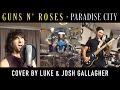 Guns N' Roses - Paradise City - Cover by Luke & Josh Gallagher