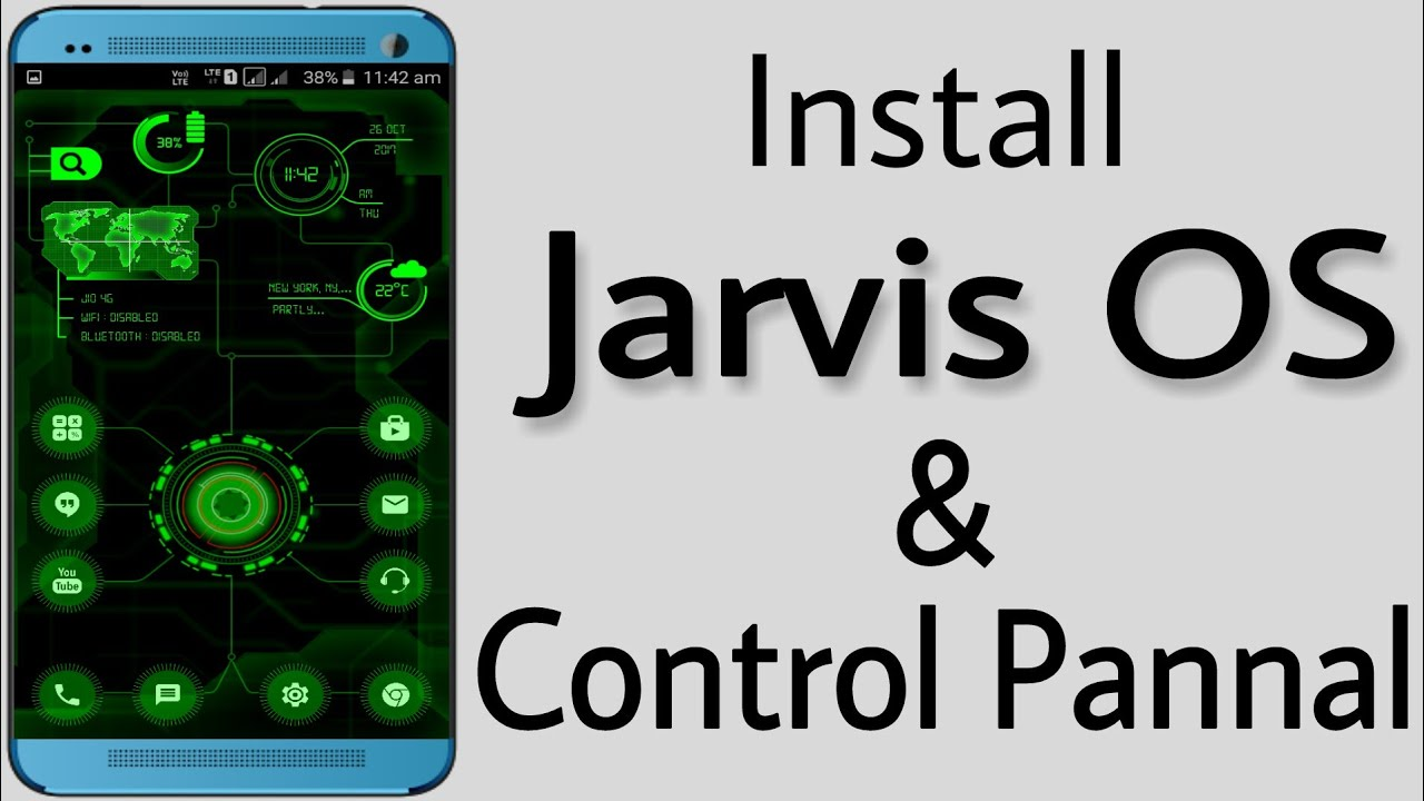 How To Install & Run JARVIS in any android