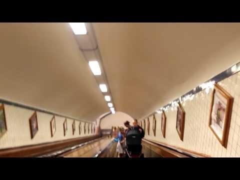 Sint Annatunnel Timelapse Antwerp Belgium