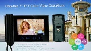 как подключить китайский домофон, видео-инструкция по подключению(, 2013-02-15T22:48:09.000Z)