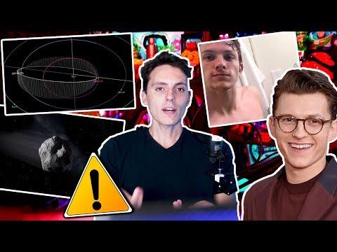 Hay un Asteroide que VIENE hacia la tierra y Pack de Tom Holland-Wefere NEWS