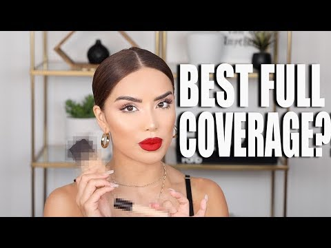 CRAZY GOOD FULL COVERAGE FOUNDATIONS