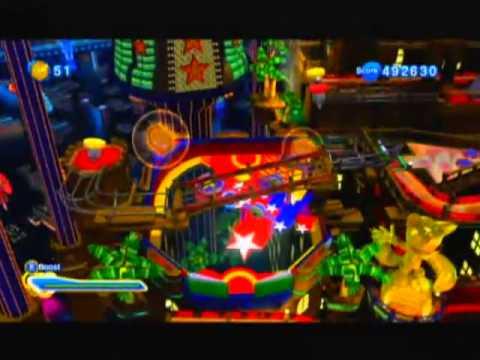 Sonic Generations - Casino Night Pinball (Score: 999,999)