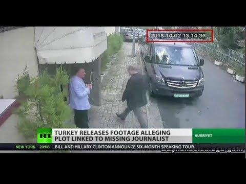 Turkey Releases New Footage Alleging Plot Linked to Missing Journalist