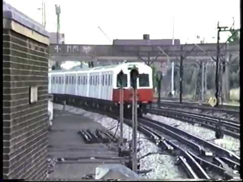 London Underground BR DMU Test Car IRIS + D & C Stocks 1987