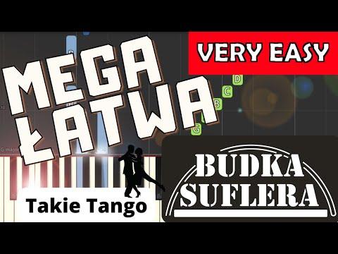 🎹 Takie Tango (Budka Suflera) - Piano Tutorial (MEGA ŁATWA wersja) 🎹