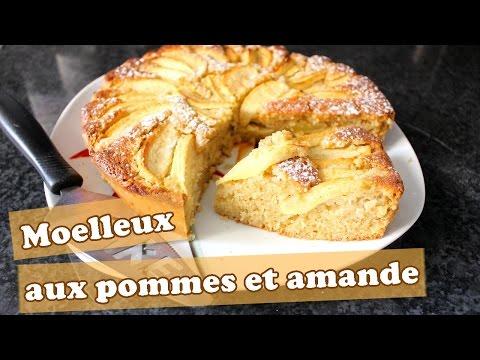 🎂-moelleux-aux-amandes-et-aux-pommes-(10-15-parts)-|-chocopraline