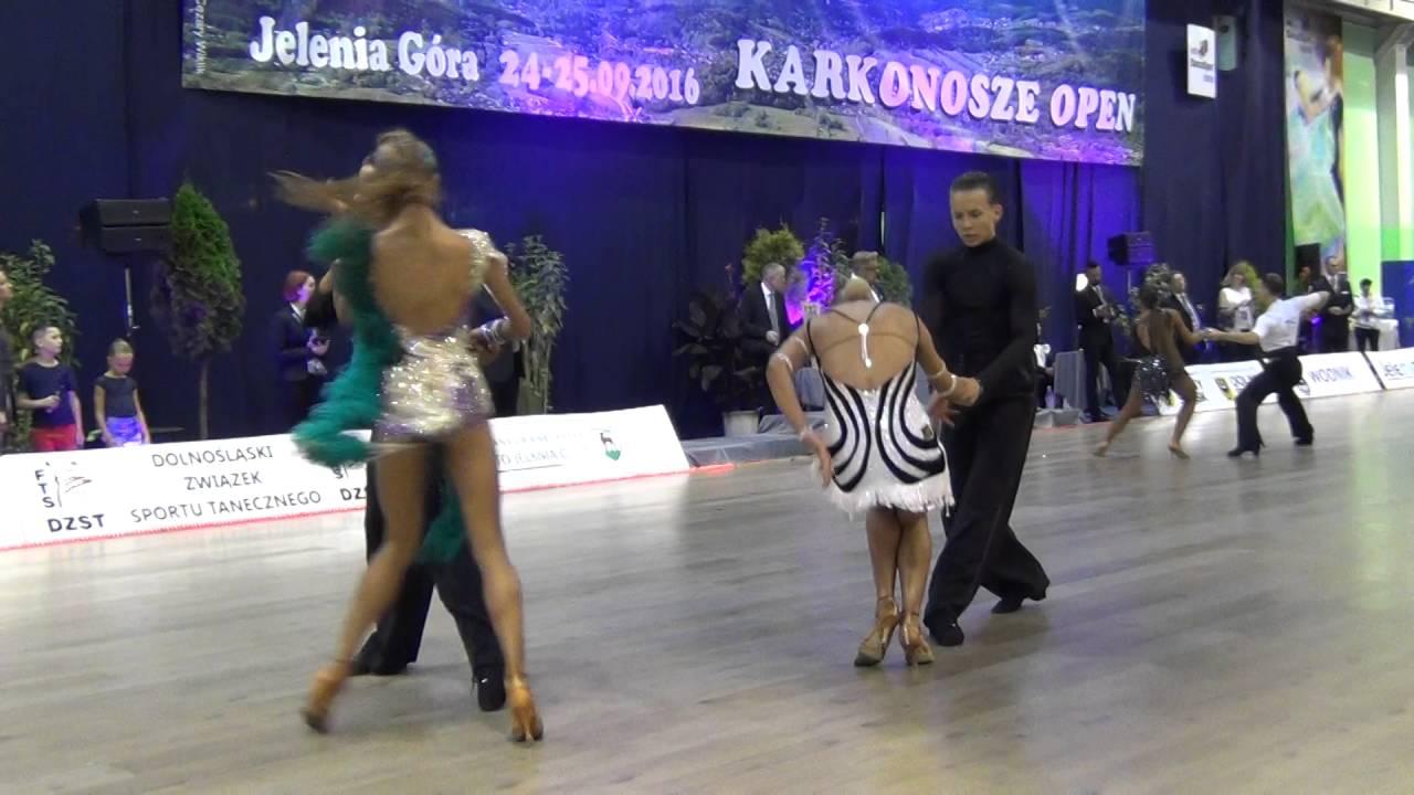 Kamilla Anuszkiewicz Dawid Kurzawa Rumba Karkonosze Open WDSF Youth Open LA 1/2F