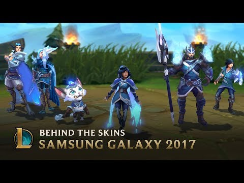 Making the SSG 2017 World Championship Team Skins - Behind the Scenes | League of Legends thumbnail