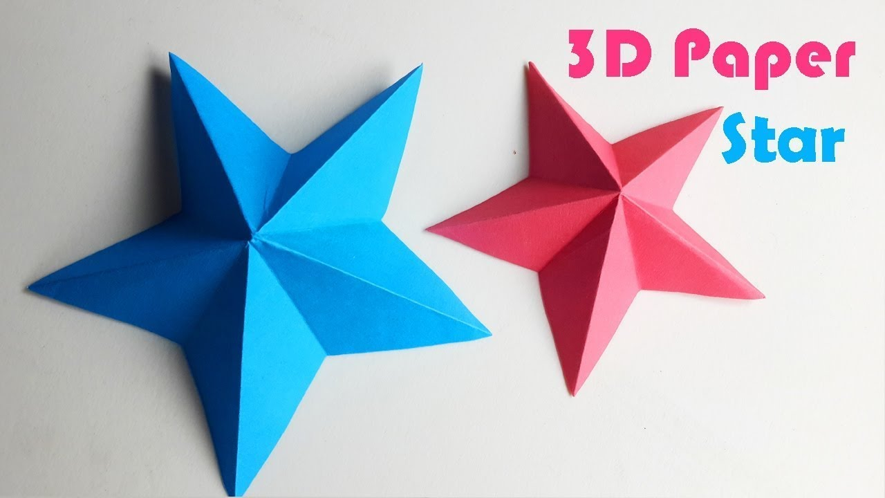 Simple Origami Star 3d To Pin On Pinterest Nut Kusudama How