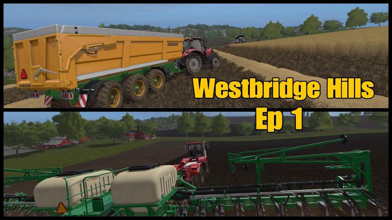 Let's Play Farming Simulator 17 PS4: Westbridge Hills, Ep 1 by MrSealyp
