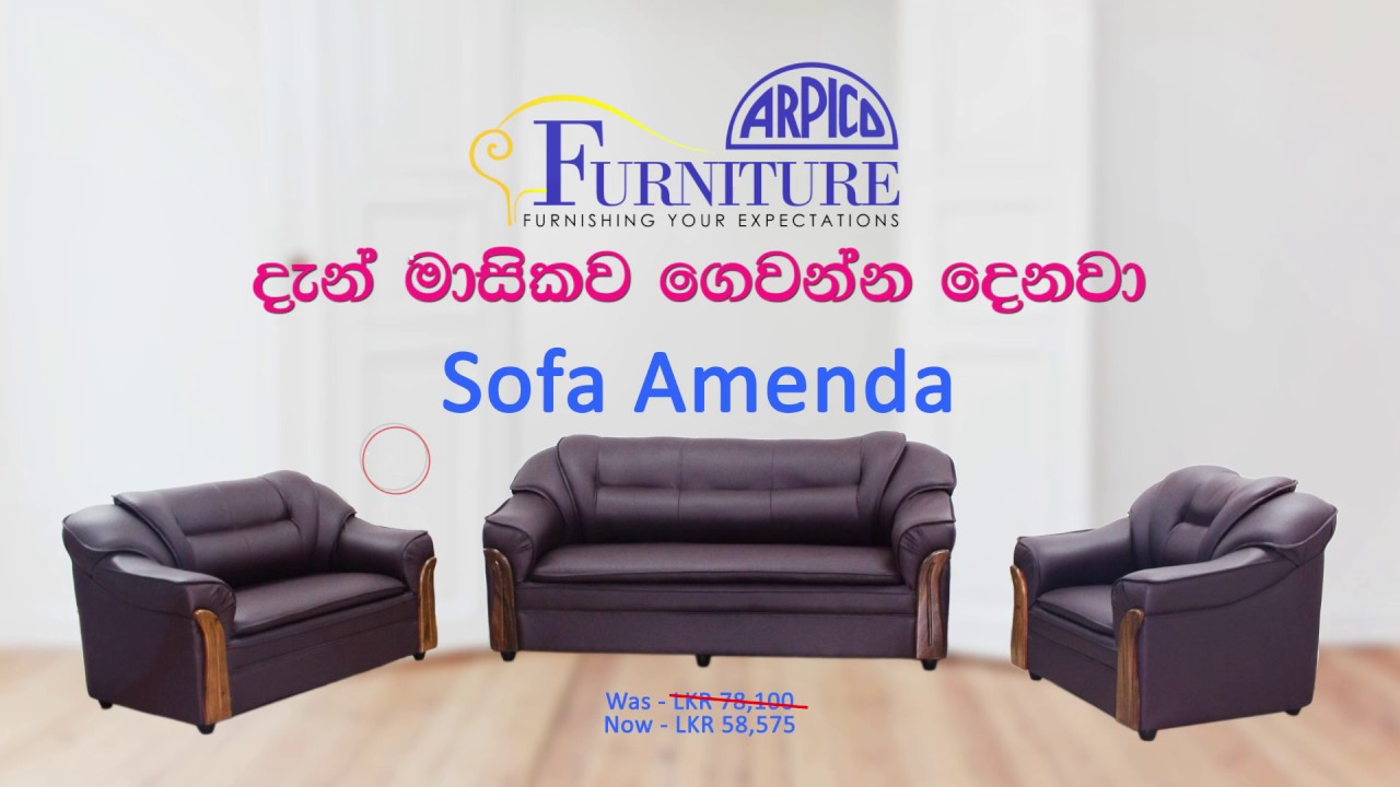 Sofa Set Installment