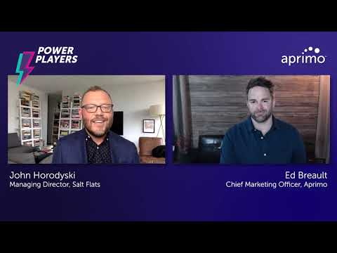 Question 7: What's Your Power Play? | John Horodyski – Aprimo Power Player