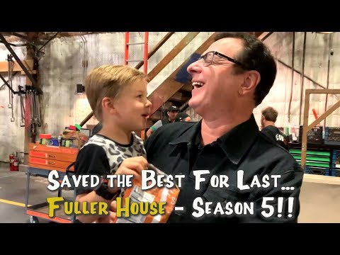 FULLER HOUSE SEASON 5 BEHIND THE SCENES - Our first day back!