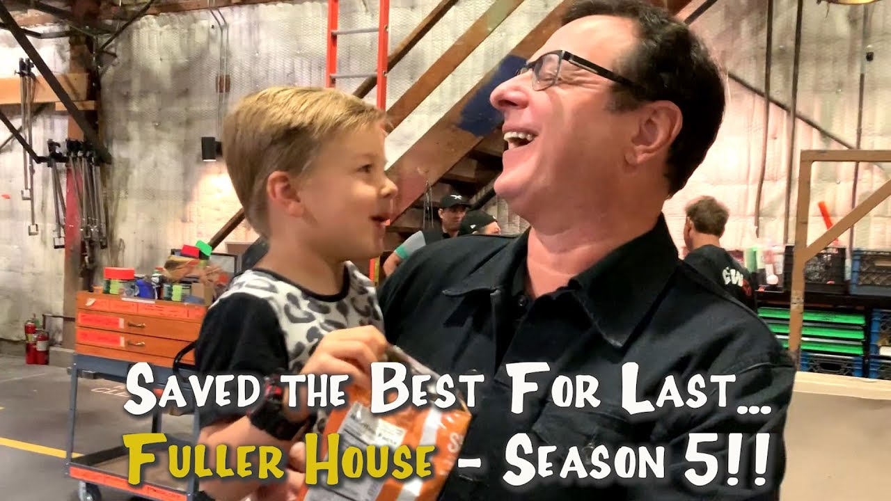 Full House Christmas Episodes.Fuller House Season 5 Behind The Scenes Our First Day Back