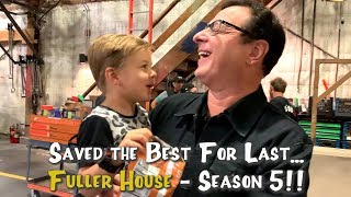 🎬 FULLER HOUSE SEASON 5 BEHIND THE SCENES 😁 Our FIRST DAY back!