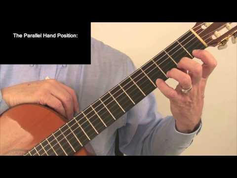 Left Hand Position for Classical Guitar by Douglas Niedt