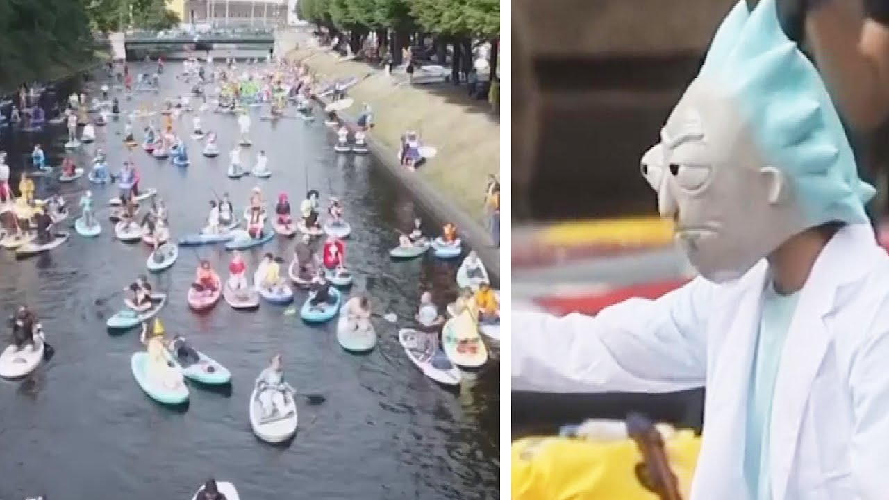 Download The 'SUP' Festival Floats Through Russia