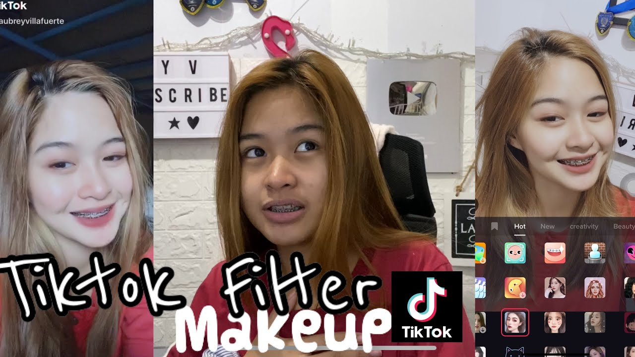 Tiktok Makeup Filter 1 Youtube
