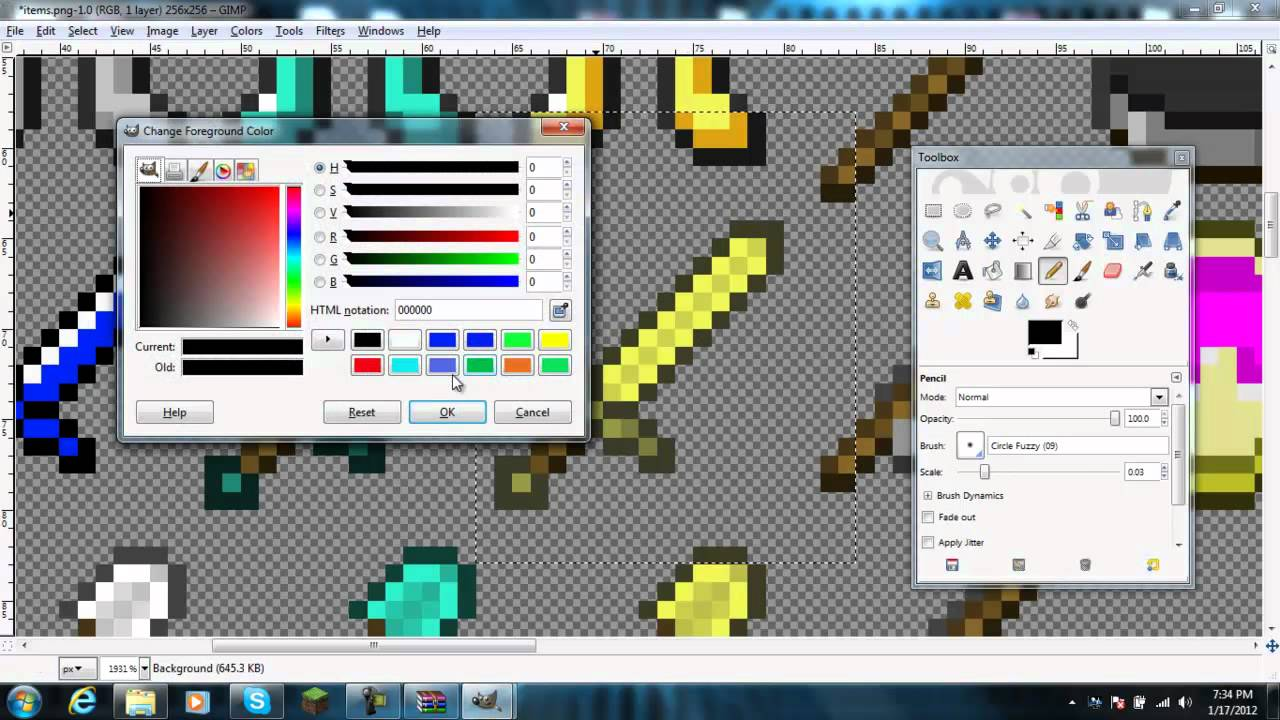 How To Edit Block and Weapon Textures In Minecraft