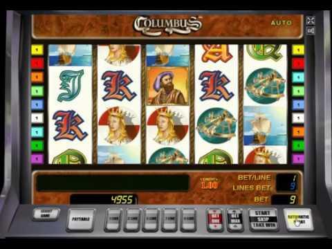 Игровой автомат Columbus от Novomatic
