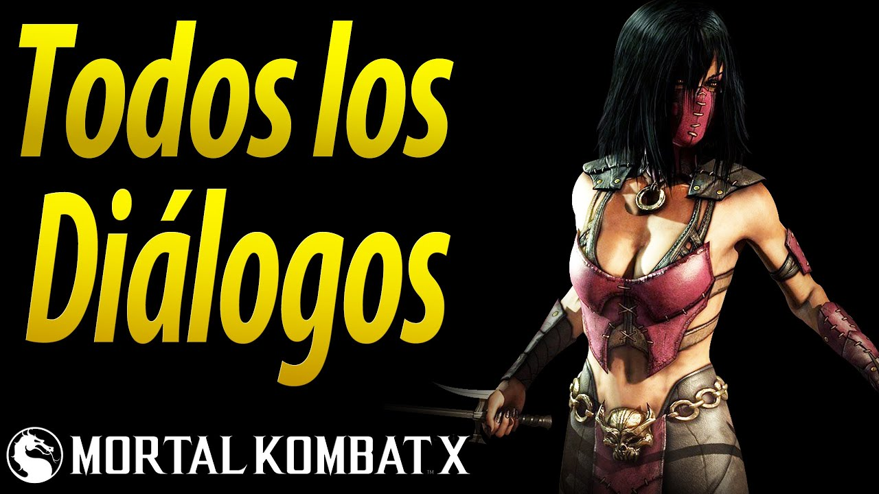 Mortal Kombat X | Español Latino | Todos los Diálogos | Mileena | Xbox One |