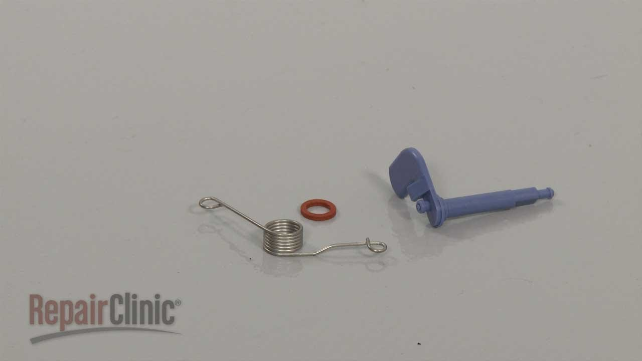 Kitchen Aid Dishwasher Repair Sink Types Materials Bosch Dispenser Lever Replacement #00166630 ...
