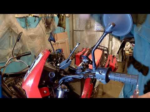 Лёгкая смазка тросиков мотоцикла