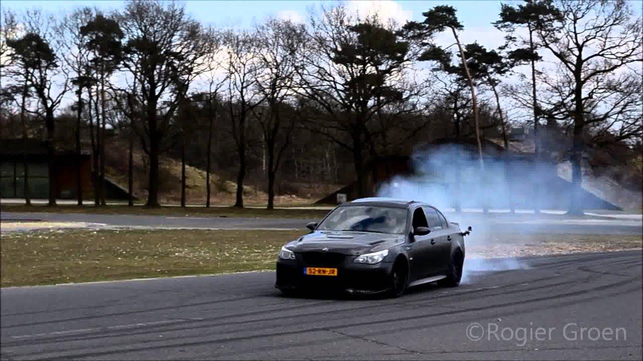 Bmw M5 V10 Drifting Youtube