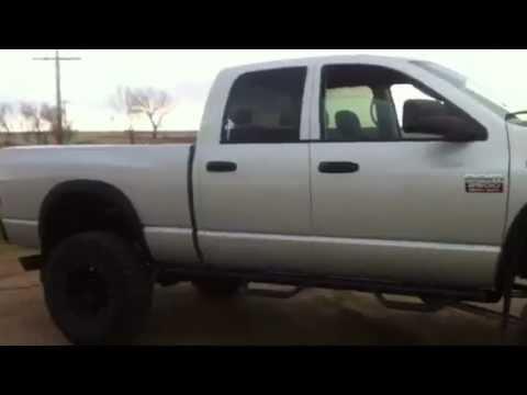 Lifted Dodge Ram 2500 >> Lifted Cummins 5.9l HO - 2003 Dodge Ram 2500 Turbo Diesel - BDS Long Arm Lift - YouTube